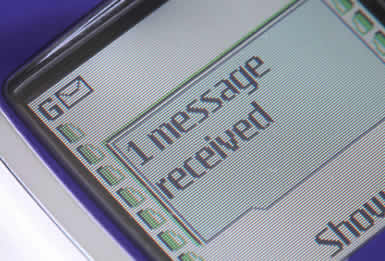 LCD Text Messaging